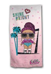 Official LOL Surprise Shine Bright Beach Towel 70 x 140 cm