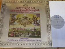 2533 458 Bach Sacred Songs from Schemelli's Song-Book / Schreier / Richter