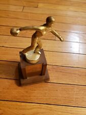 VINTAGE MID CENTURY LARGE BOWLING TROPHY