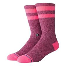 Stance Uncommon Dip Crew Crew Socks in Pink