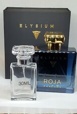 Elysium by Roja Parfums Limited 30ml Decant. Free Sample And Travel Bag Included