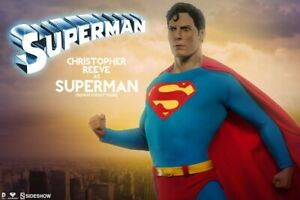 SUPERMAN Christopher Reeve Premium Format Figure Sideshow Collectibles DC NIB