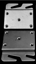 Offset Bed Rail Hook Plate PAIR