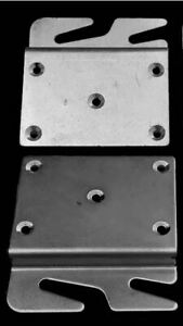 Offset Bed Rail Hook Plate PAIR