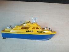 1960S Hard Brittle Plastic Adac Rescue Boat Roxy Toys Rare! A Nice Piece!