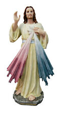 Divine Mercy Veronese Statue, Color, 12""