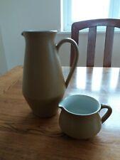 Denby ode pottery jugs x 2