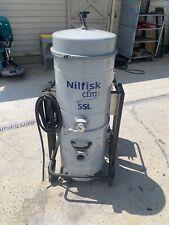 Nilfisk Cfm 5sl Industrial Vacuum Mobile Wetdry 3 Phase 440v 2