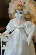 Creepy Scary Porcelain Doll - Susan, Great Prop or Collectible