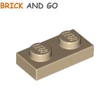 4865 Rouge x16 Lego Panneau demi 1x2