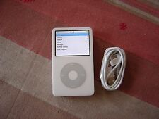 Apple iPod Classic 5th Generation white (80GB) in working order