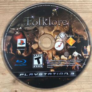 Folklore PS3 Playstation 3 Disc Only [US Version] Folk Lore