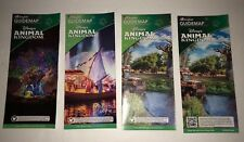 Walt Disney World Animal Kingdom Brochure guidemap Lot Of 4. DD