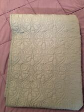 1 Twin Quilted Bedspread Coverlet Quilt Set with Pillow Sham Bedding Cover