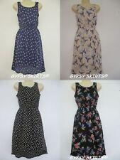 Atmosphere Polyester Floral Sleeveless Dresses for Women