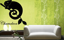 Wall Stickers Vinyl Decal Chameleon lizard reptile Animal Wall Decor Mural ig037