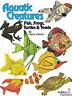 Aquatic Creatures - fabulous applique book - Ashton
