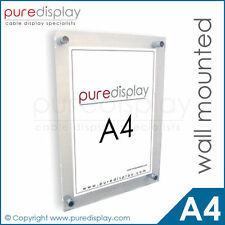 A4 Wall Mounted Poster/Photo Frame Holder - NEW!