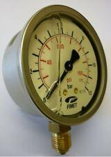 Air / Water Pressure Gauge - 12 bar, Filled (PG12B)