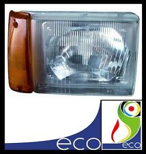 FARO FANALE ANTERIORE destro FIAT PANDA 750 dal 1998 al 2003 ARANCIO elettrico