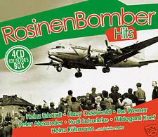 CD Rosinenbomber Hits  von Diverse Interpreten 4CDs mit Zarah Leander und Heinz