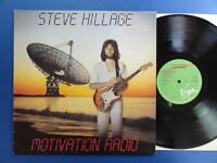 STEVE HILLAGE  MOTIVATION RADIO Virgin UK 2nd pr LP EX