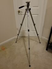 "VELBON VE-3 Professional Aluminum Tripod 22""-60"" Silver Camera/Video Adjustable"