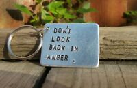 Don't look back in anger Keyring Oasis Lyrics Liam Noel Gallagher GIFTS for Him