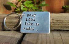 Don't look back in anger Keyring Oasis Lyrics Liam Noel Gallagher GIFTS for Him