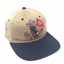 Team Tabasco Golf Baseball Hat Cap with Leather Adjustable Strap