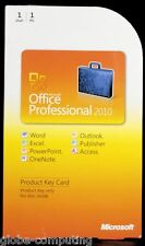 Microsoft Office Professional 2010 PKC ( Outlook Word ) 269-14834 - NO PEN MARKS
