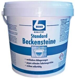 DR.BECHER  Standard Beckensteine   30 Stück Eimer - Pinie-Citrus-Duft im Urinal