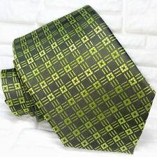 Cravatta verde Nuova 100% seta Top quality Made in Italy Morgana marca