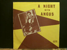 Angus Macleod una noche con Angus Lp escocés Tradicional Folk Excelente!!!