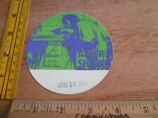 Guns N' Roses 1991 After Show party backstage pass sticker linen SCARCE unused