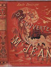 Les DÉCOUVERTES de Mr JEAN par Émile DESBEAUX Bretagne Ouessant Cancale... 1884