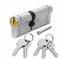 Anti Snap Euro Cylinder Door Lock uPVC Aluminium Timber Door Barrel 6 Pin