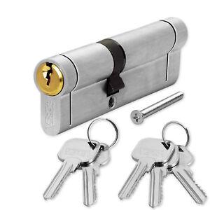 Anti Snap Euro Cylinder Door Lock uPVC Aluminium Timber Door Barrel 6 Pin