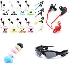 Bluetooth Earbuds Headphones Wireless Stereo Running Headset Sunglasses