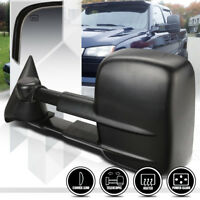 [Left]Driver Side Power+Heated Extendable Towing Mirror for 03-07 Suburban/Tahoe