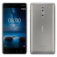 Teléfonos móviles libres grises Nokia con conexión 4G