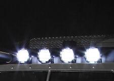Killerbody Dach Suchscheinwerfer Set Chrom inkl. 4 LED´s KB48509