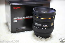 NEW Sigma 24-70mm F2.8 IF EX DG HSM (24-70 mm F/2.8) Zoom Lens for Nikon*Offer