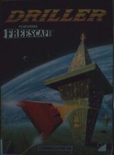 Driller featuring Freescape C 64 Cassette (Tape) (Game, Box, Manuals) 100% ok