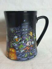 Disney Halloween Ceramic Mug Coffee Cup Mickey & Friends 16oz NEW Donald Figaro