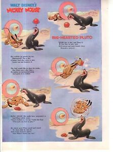 1941 Disney - Big-Hearted Pluto from Good Housekeeping