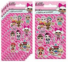LOL stickers  Customise Kids stickers Card Making Gadget Craft