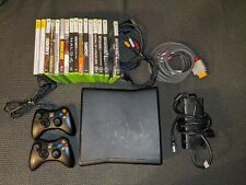 Microsoft Xbox 360 S 250 Gb Black Console + Tested/Working