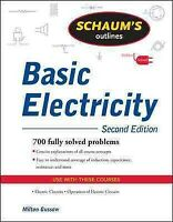 Schaum's Outline of Basic Electricity, Paperback by Gussow, Milton, Brand New...