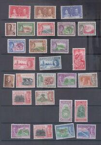 Dominica George VI Mint Collection